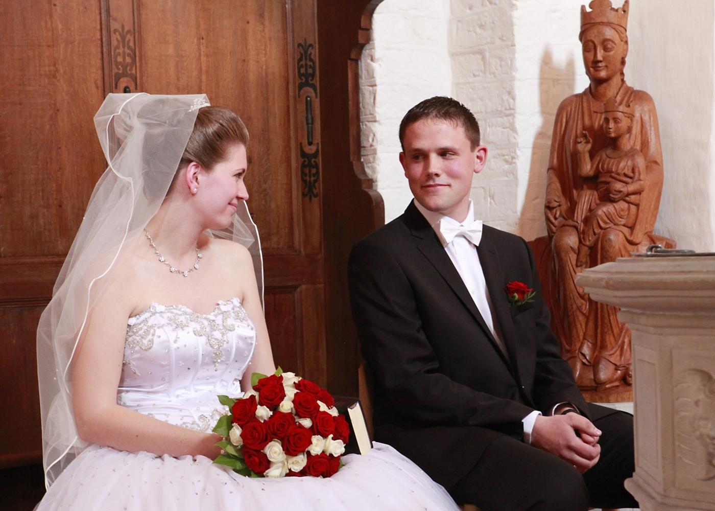 bryllupsbilleder i kirken